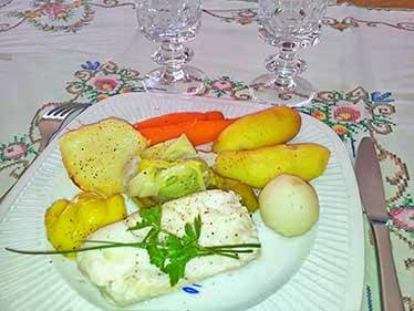 Poisson court-bouillon
